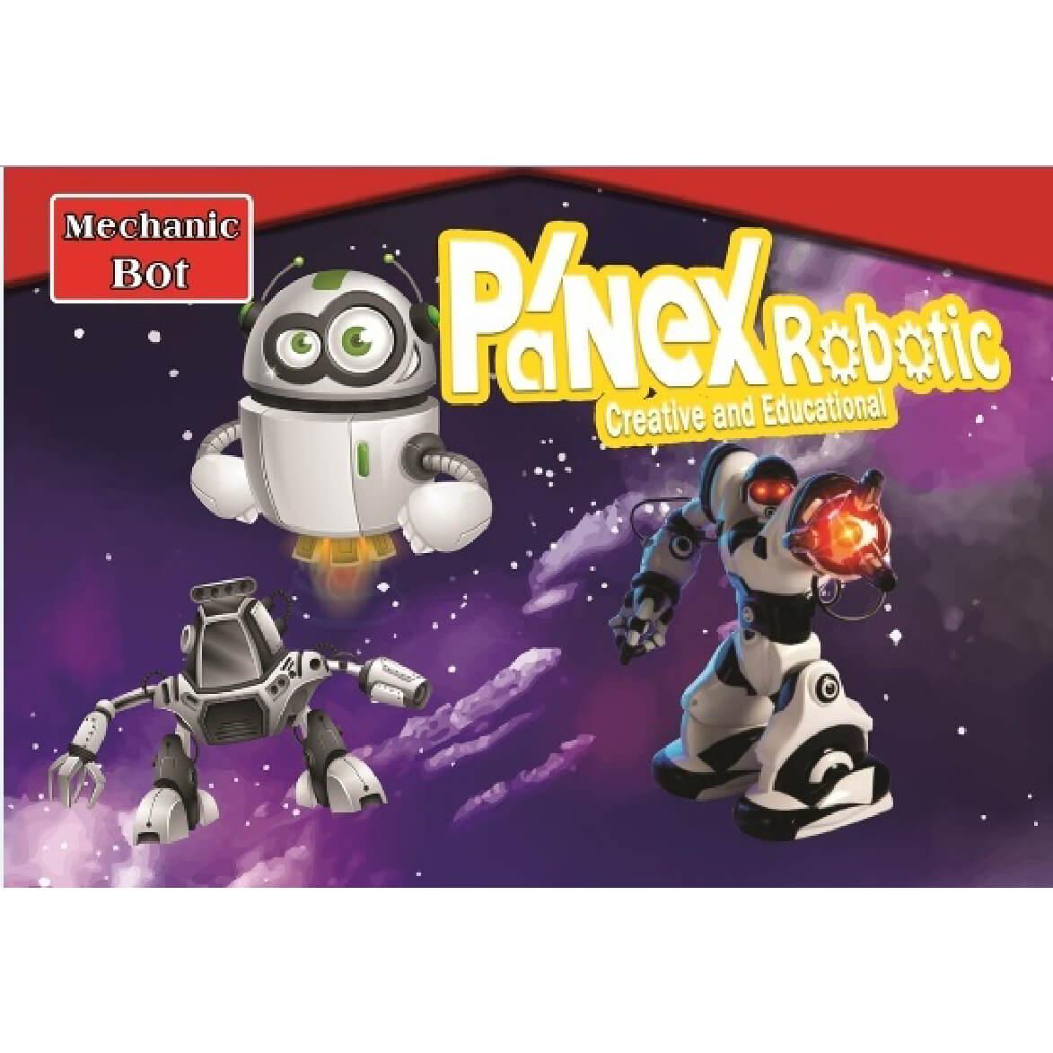 ربات مکانیک بات 1 (به همراه برد تغذیه) پانکس-رباتیک