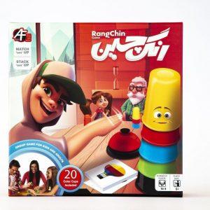 بازی فکری- رنگچین 4 نفره - مهندسی خلاقیت